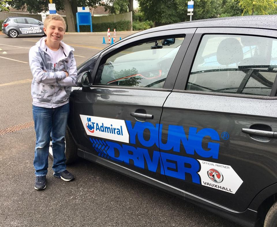 A fantastic hour for all budding young drivers!
