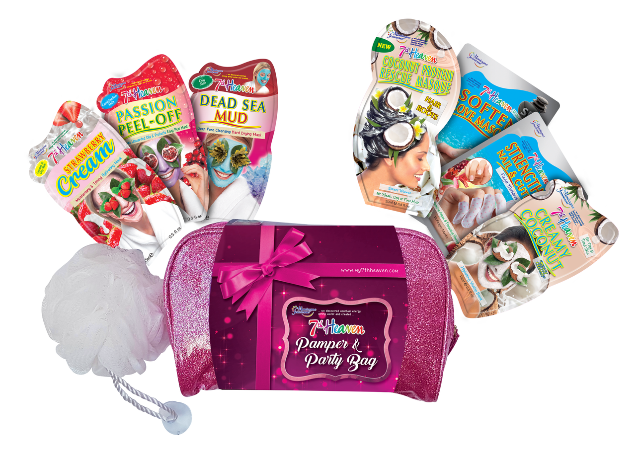 FREE Pamper & Party Pack from 7th Heaven!
