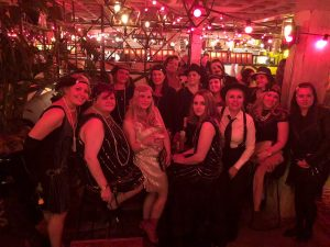hen weekend 1920s gang