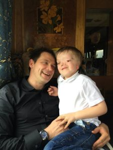 Autism, love and life ~ Andrew smiles at Harry on the train to Hogwarts