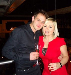 My amazing relationship - me and Andrew on my birthday 2012