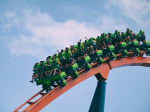 being a parent ~ a rollercoaster full of happy riders