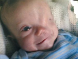 Harry as a baby