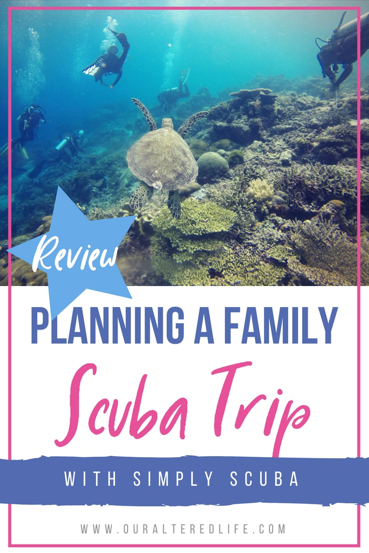 We're planning our first family scuba trip this year with the help of Simply Scuba - see how! #ad #review #scuba #familytravel
