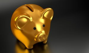 financial plan - a piggy bank
