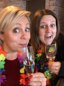 Friendship day - me and Sophie on my sisters hen weekend