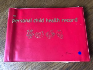 Key milestones - the red personal health record book