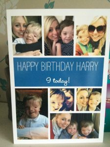 my boys birthday - harrys turns 9
