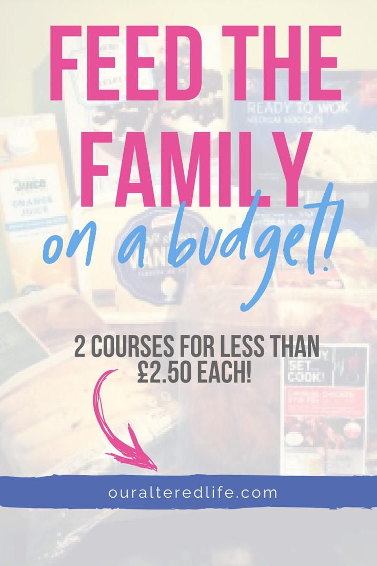 Why feeding the family on a budget is a little bit harder for me lately and how I'll be trying to please the children and the purse strings moving forward #budgeting #finances #feedthefamilyforless