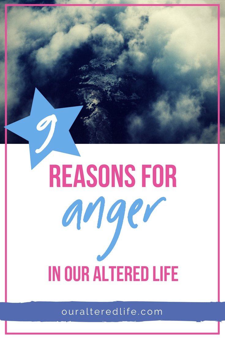 Inspired by another mum who is feeling angry with the world, read my 9 reasons for anger in our altered life both in the past and today, and what helped. #additionalneeds #autism #disability