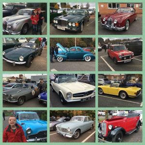 the Lake District - A selection of classic cars