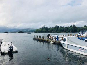 the Lake District - Bowness