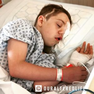 Talk to my non verbal child - Harry in Hospital