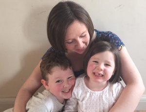 Josie and her children